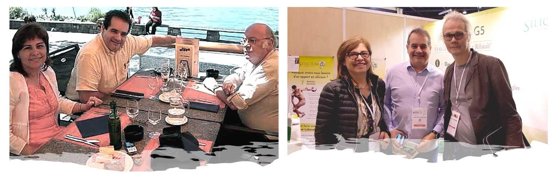 Esther y Joan Carles directores de Silicium Laboratories