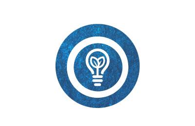 icono bombilla pensamiento innovadores